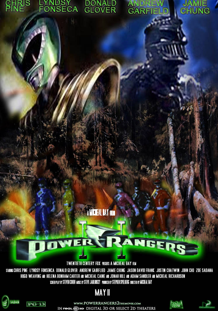 Power Rangers 2 Movie Poster By Bienku On Deviantart
