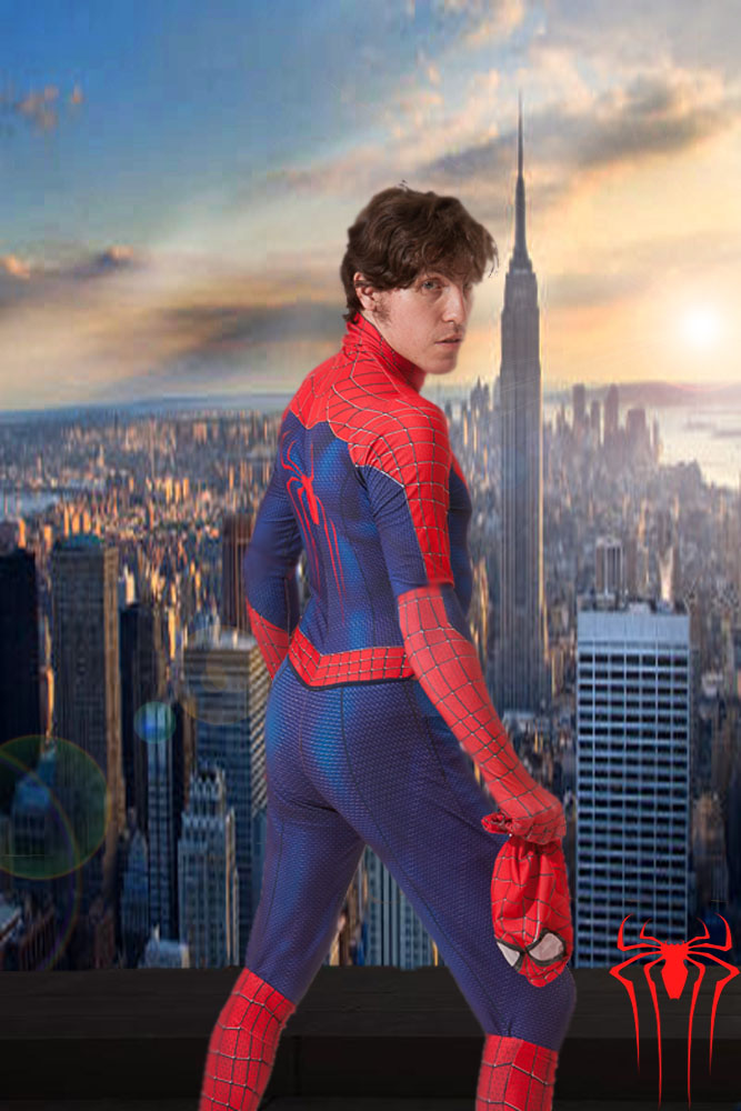 Unmasked Spider-Man by... Tobey Maguire Hot