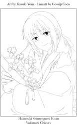 Yukimura Chizuru Lineart