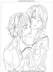 Sakuno and Yukimura