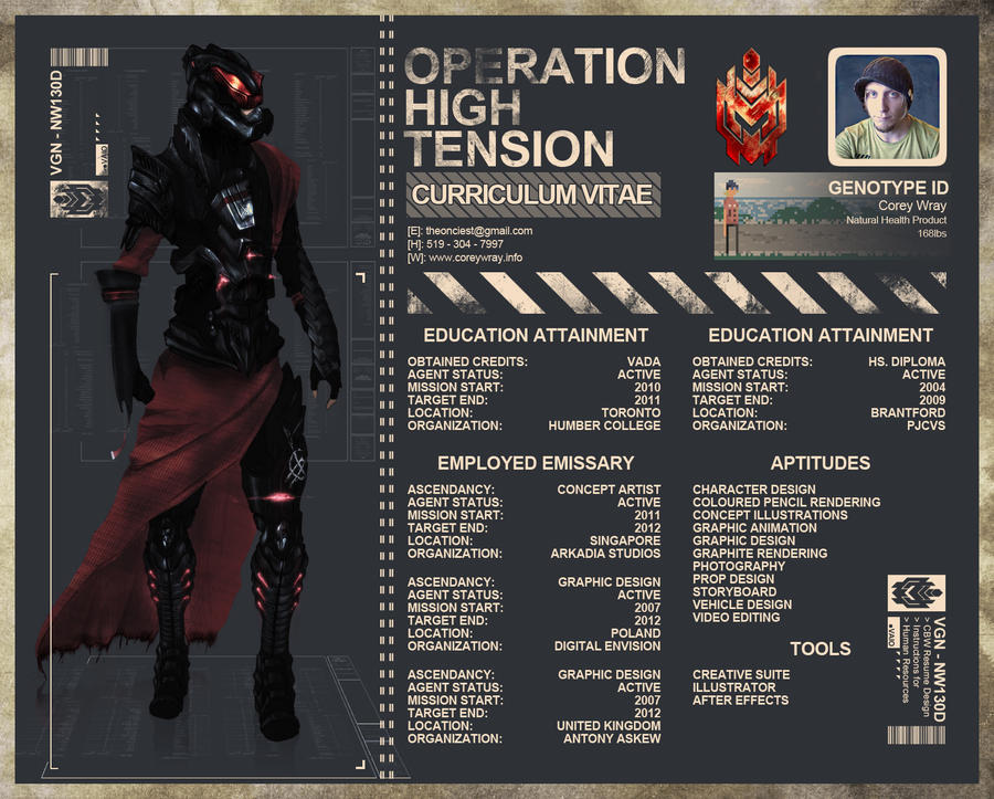 Mock Concept Art CV by the onlie on DeviantArt
