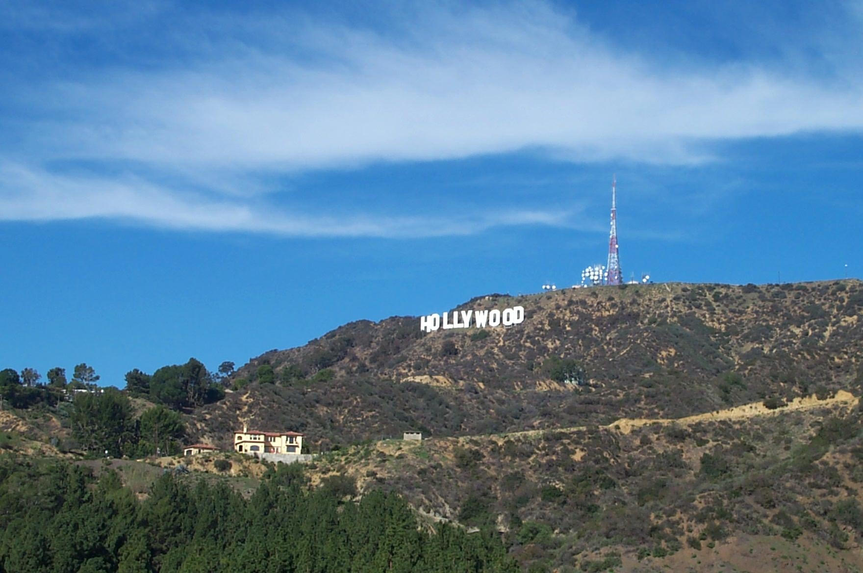 Hollywood Sign By Heidi