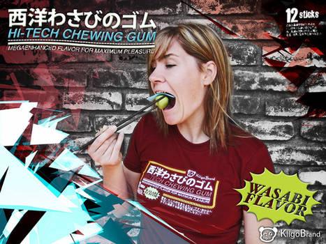 Hi-tech Wasabi Gum