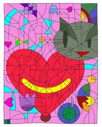 Good Times Valentine by Heidi