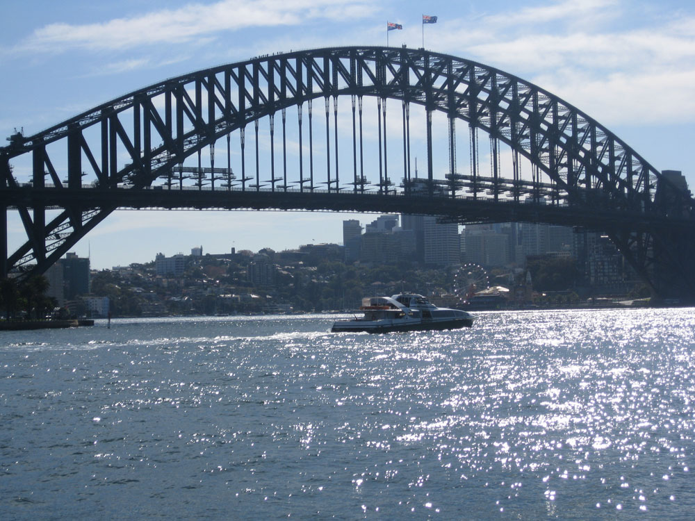 Sparkley Sydney Harbor Bridge by Heidi