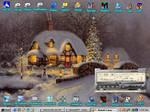 Christmas Night Desktop