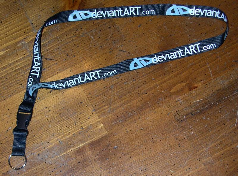 deviantART Lanyard by Heidi
