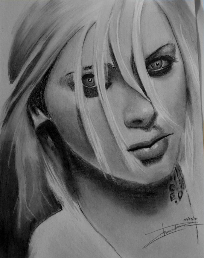 maria brink drawing2 by evilduerr on deviantart