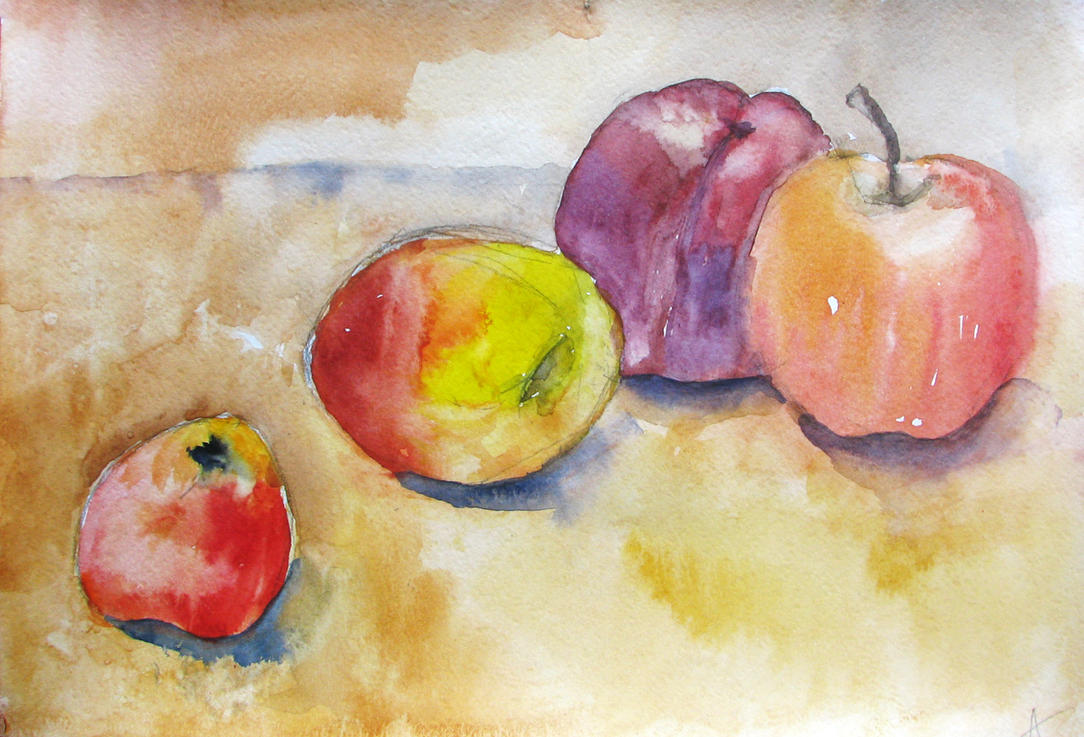 Fruits Author Anna Marinicheva by vasoiko