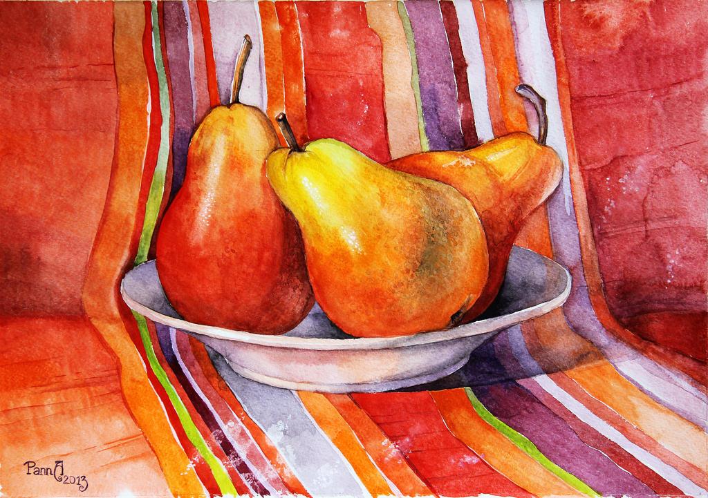 Ripe pears by vasoiko