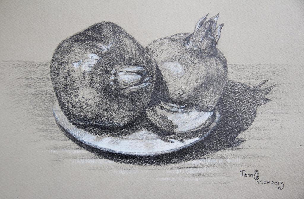 Pomegranate by vasoiko