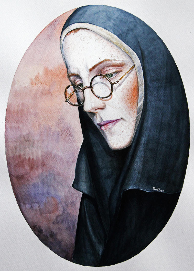 The nun Pelagia by vasoiko