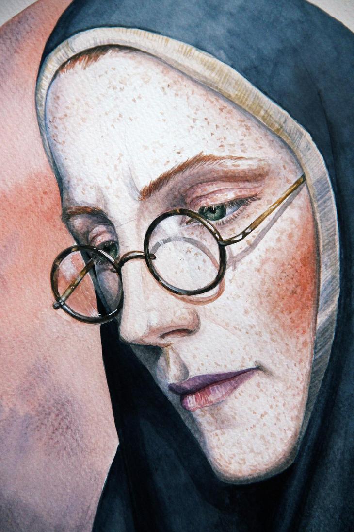 The nun Pelagia, fragment by vasoiko