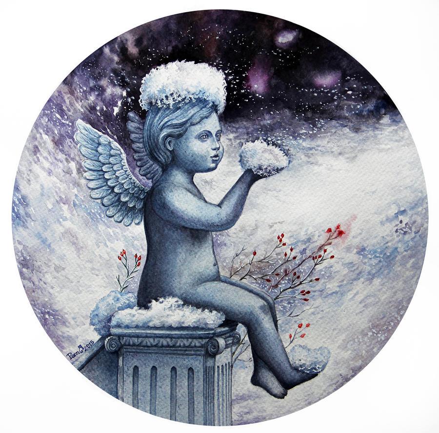 Snow Angel by vasoiko