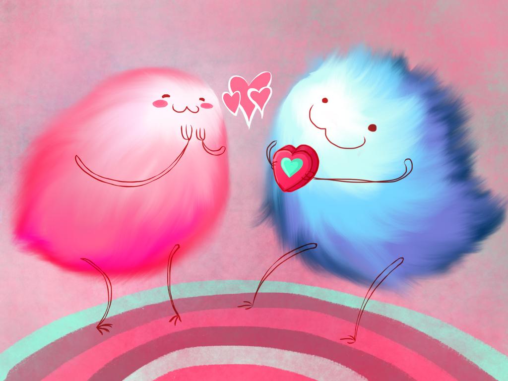 Fuzzy Valentines by TheAveragePerson