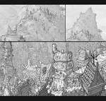 Fantasy city details