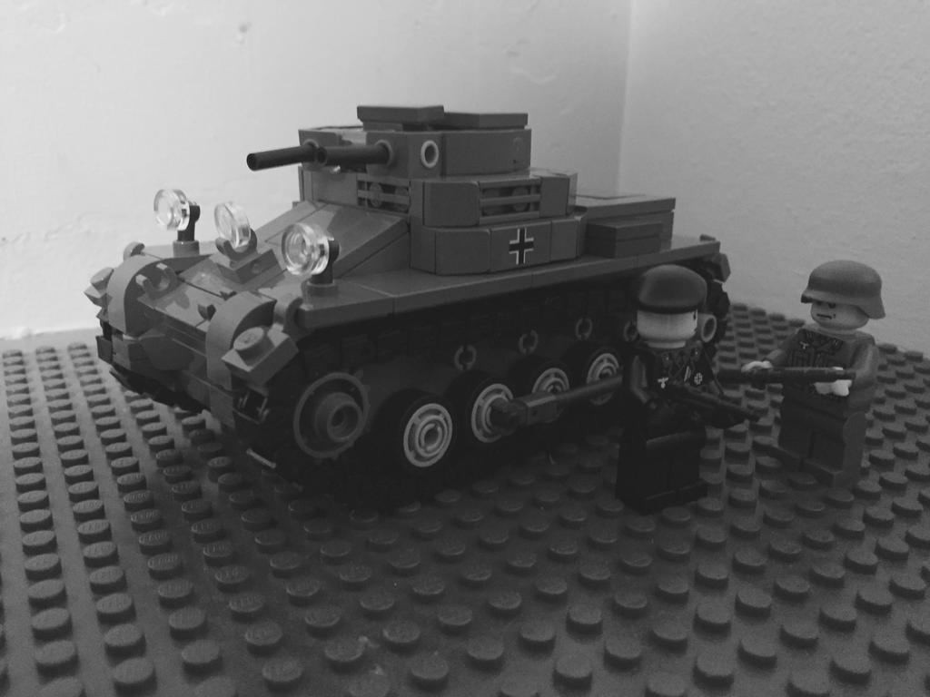 The First Panzer by TheHorribleHistorian