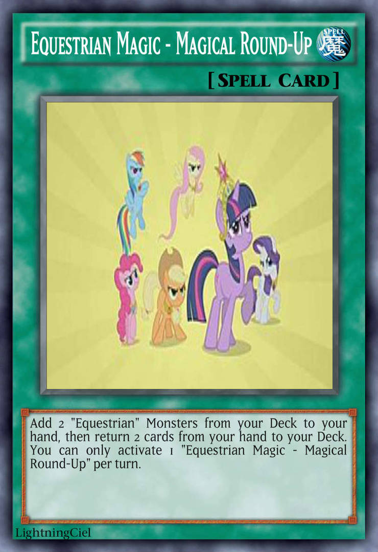 Equestrian Magic - Magical Round-Up by LightningCiel