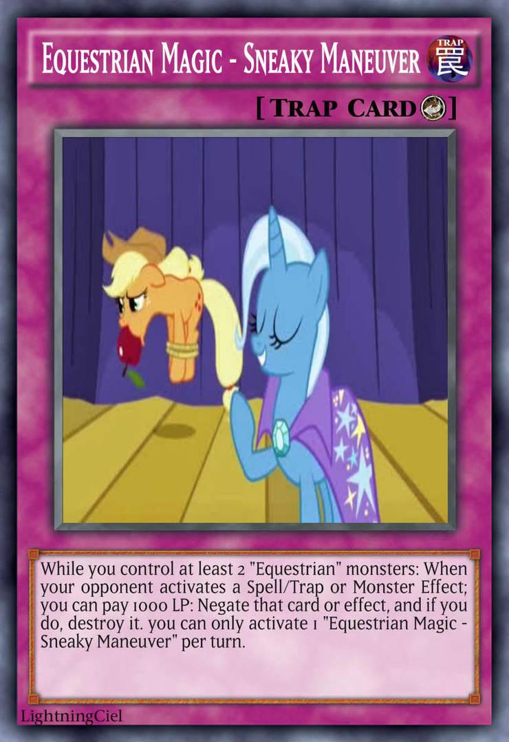 Equestrian Magic - Sneaky Maneuver by LightningCiel