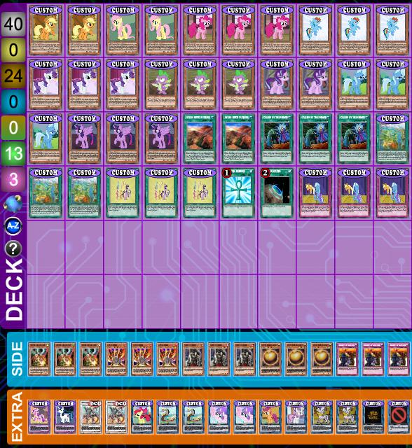 Equestrian Decklist Vers#3 (My personal build) by LightningCiel