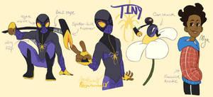 Tiny (Spidersona) Ref by Rojaninaa