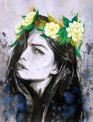 Gardenia by kiwipok