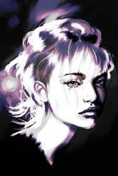 Digital Studing - black and color by kiwipok
