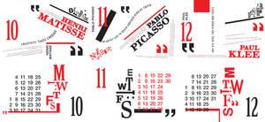 Artist Quotes 2010 Calendar