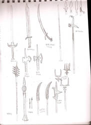 DF weapon sketches 2
