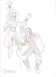 DF sketch goblins by dragonsdale