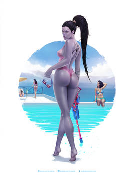 Pool Party Widowmaker
