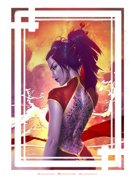 Year of the Rooster Widowmaker