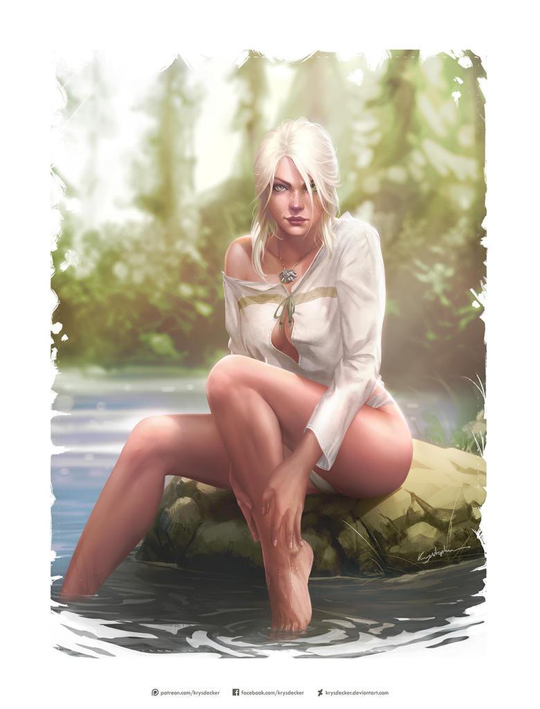 Triss Merigold - Kittew - The Witcher 3