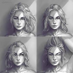 A new face by krysdecker