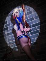 Harley Quinn by krysdecker