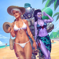 Summer in Overwatch