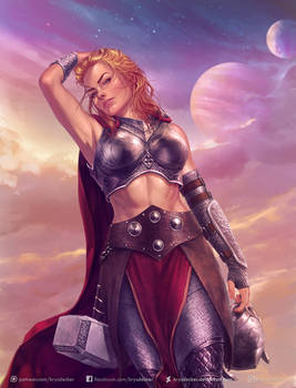 Thor, the Goddess of Thunder
