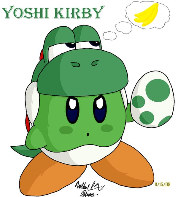 Kirby - Yoshi by BlazingGanondorf on DeviantArt