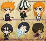 Bleach Chibis - Hero Edition
