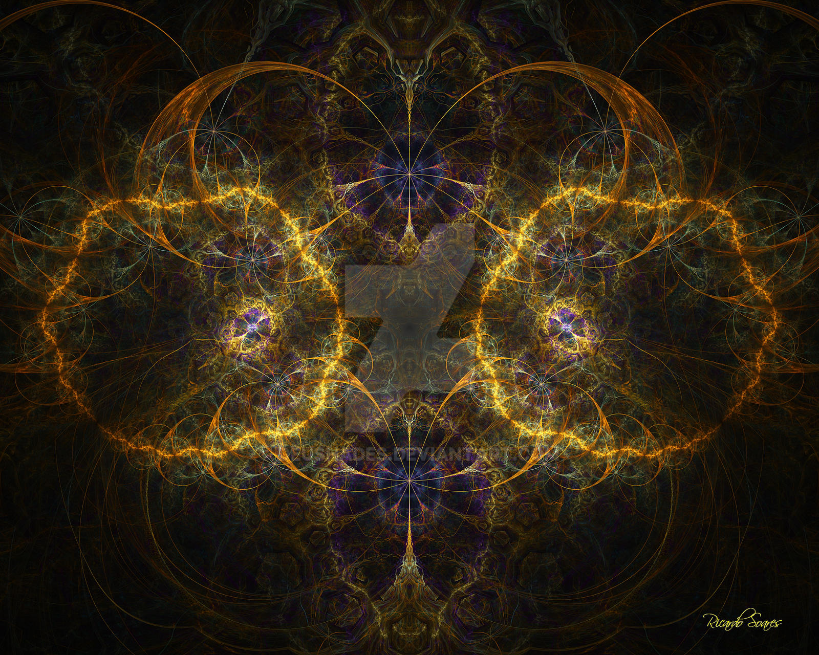 Pure Abstract N2 by DeusHades