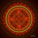 Christmas Hexes-Mandala