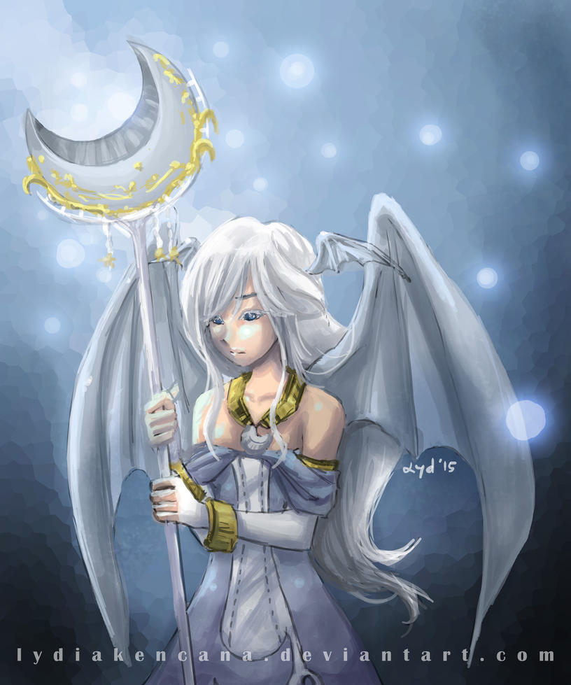White Moonlight By Lydiakencana-d8ztyve by LightArcIndumati