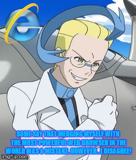 Colress' Hair Le Funny Internet Explore meme by LightArcIndumati