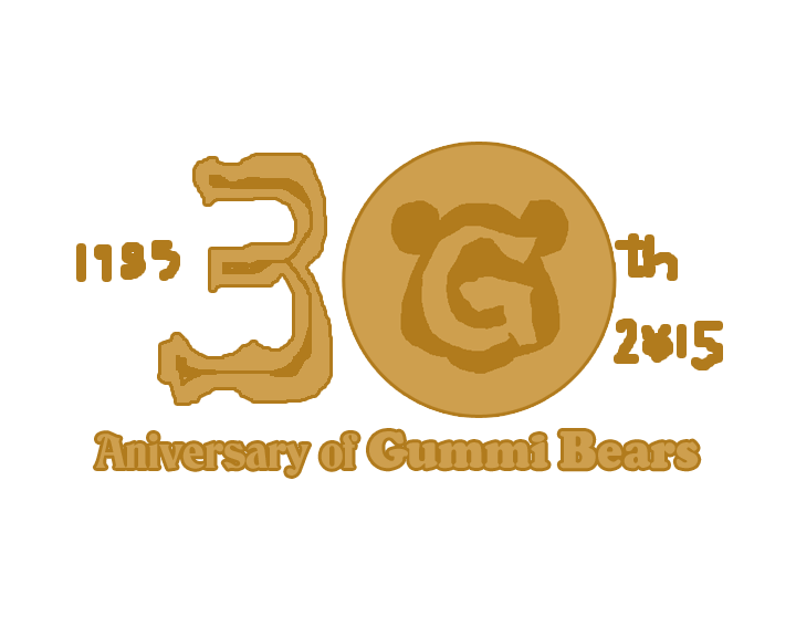 Gummi Bears 30th Anniversary Logo By Tomarmstrong20 On Deviantart