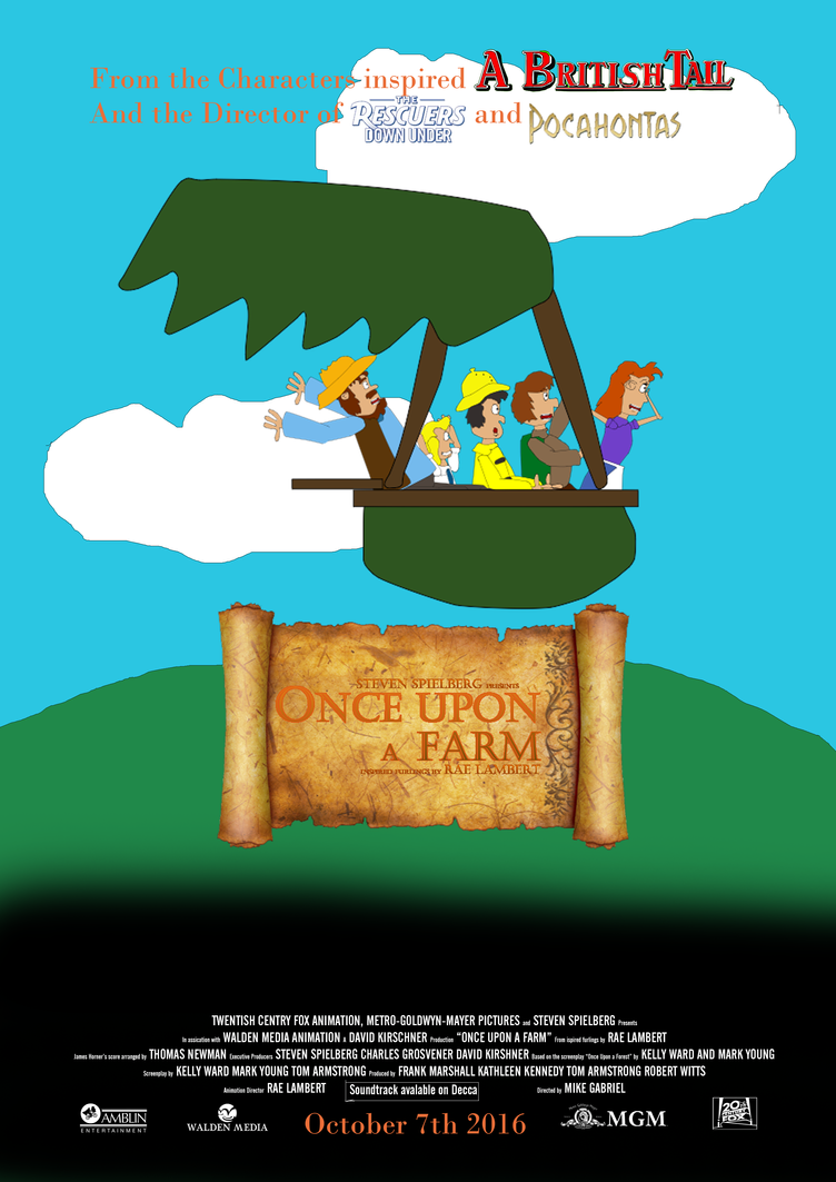 Once Upon a Farm main poster by TomArmstrong20 on DeviantArt