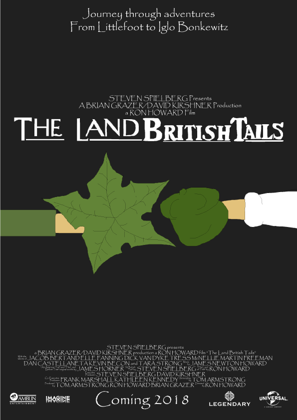 The Land British Tails teaser poster by TomArmstrong20