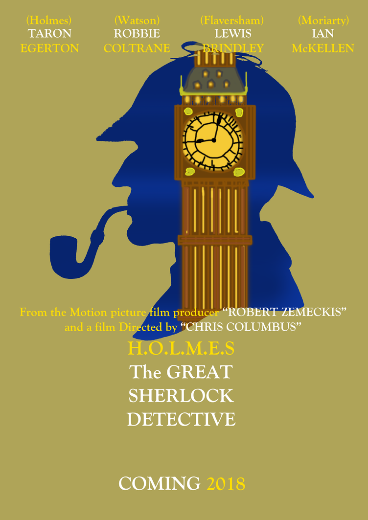 The Great Sherlock Detective - Teaser Poster by TomArmstrong20
