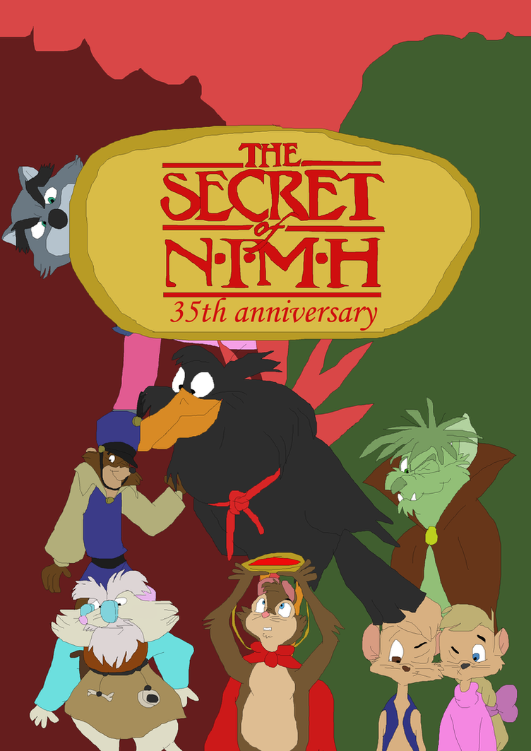 The Secret of NIMH 35 years legency by TomArmstrong20