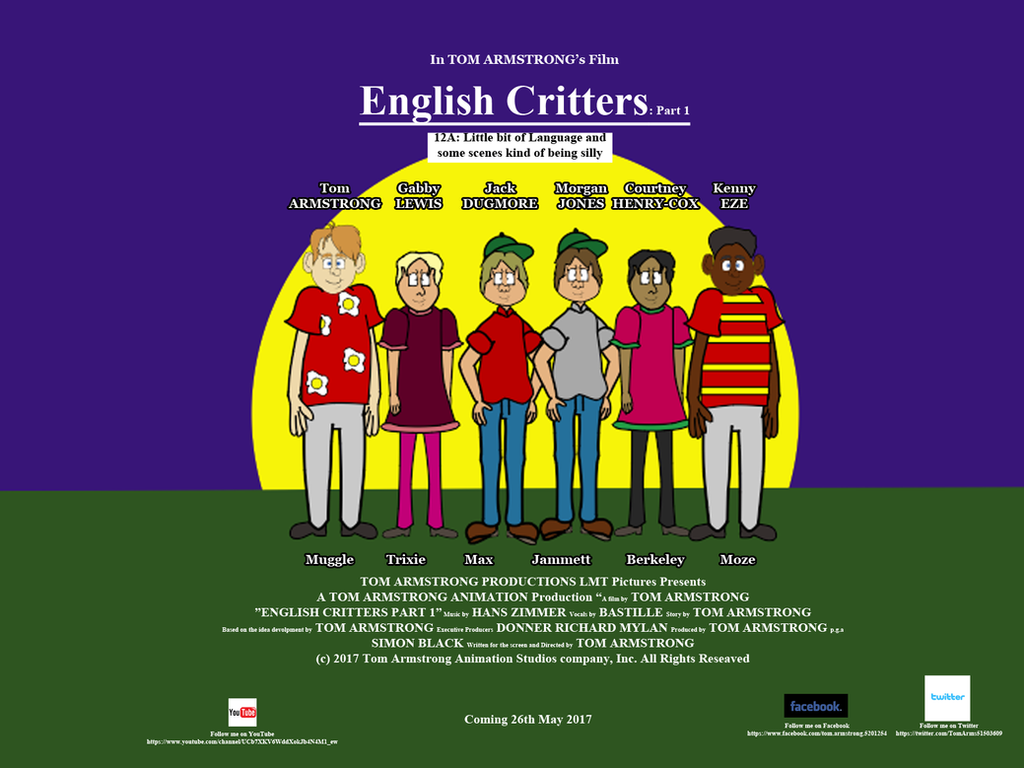 English Critters: Part 1 - Poster by TomArmstrong20