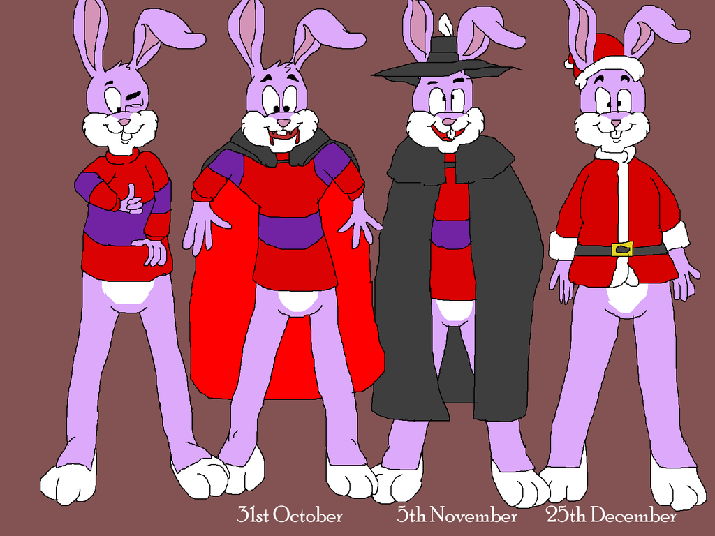 Reader Rabbit's can't wait for next holidays in UK by TomArmstrong20